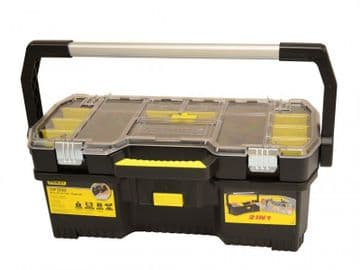 Toolbox with Tote Tray Organiser 60cm (24in)